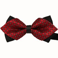 Wholesale New Formal Commercial Bow Tie Fashion Men Bow Ties For Boys Accessories Cravat Bowtie