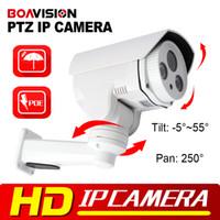 Wholesale Mini MP PTZ Bullet IP Camera Built in POE Card Slot mm Lens HD P Project Night Vision IR M Outdoor Waterproof IR CUT ONVIF P2P
