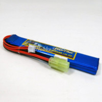 battery airsoft guns - 7 V S mAh C Lipo with mini Tamiya plug For airsoft gun Electric Rifle toy accessories