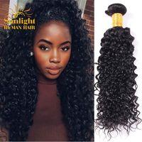 Wholesale Mink Brazilian Curly Hair Bundles Brazilian Virgin Hair Curly Deep Wave Virgin Brazilian Hair Weave Bundles Unprocessed Human Hair Bundles