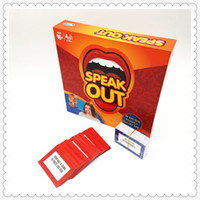 Wholesale 2016 Speak Out Board Game Mouthguard Challenge Game Party Game
