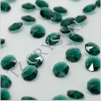 Wholesale Free Fast Shipping mm Crystal Octagon Beads In Holes For Home Decoration Accessories