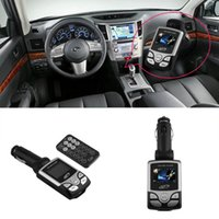 Wholesale Car MP3 Music Player Wireless FM Transmitter Radio Modulator Remote Control hot selling