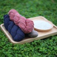 Wholesale 5 piece g high quality popular tibetan yak worsted weight handknitting yarn colored yarn
