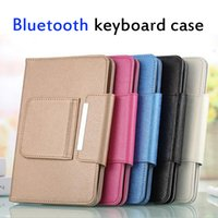Wholesale Newest Universal Tablet PC Cover Bluetooth Keyboard Case for Inch Tablet PC Q88 Samsung Tab with Stand Holder PU Leather Cases