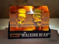amc cars - The Walking dead AMC The walking dead zombie head Resin crystal car ornament home Decoration