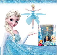 Wholesale Frozen Flying fairies Induction aircra Activity Amusement Toys Classic Toys Frozen Toys Dolls Birthday Christmas Fashion gifts Novelty Games
