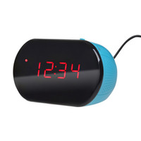 Wholesale Excelvan LED Table Digital Alarm Clock with Backlight FM radio station Sleep Snooze Functions Easy to read Good Gift lt no tracking
