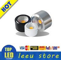barrel cooler - factory outlet COB LED ultrathin downlight Open installed W W W W W v light barrel ceiling lamp