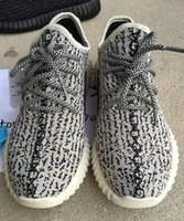 Wholesale with Box Top Quality Hot Sale Y boost Shoes Pirate Black Turtle Dove Oxford Tan Moonrocks Mens Womens Kanye West Sneaker Outdoor