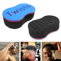 Wholesale New Magic Barber Hair Brush Twist Sponges For Dread Locs Twist Coil Afro Curl High Quality