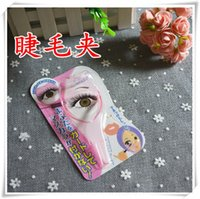 Wholesale Hot style of foreign trade in Novice essential three dimensional crystal eyelash eyelash eyelash curling aids pink paragraph two options