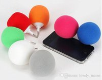 apple computer gifts - 3 mm loudspeaker mini speakers gift box Samsung apple small balloon big sound mobile phones mini speaker for smart phone computer ipad
