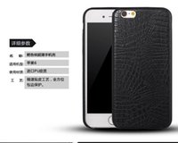 Wholesale For iPhone Case Luxury Crocodile Pattern PU Leather Case Cover Soft PU Back Cover For iPhone Plus