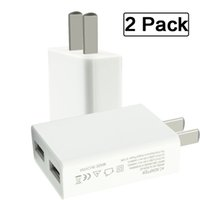 apple bluetooth travel cable - Super Portable ounces W V A Dual USB Wall Charger Travel White Adapter for Cell Phones Tablets Power Banks Bluetooth