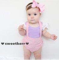 bebe vest - 2016 Kids Clothes INS Summer Bebe Girls T shirts Lace Cotton T shirt Kids Tops Newborn Baby Girls Vest Boutique Kids Clothing Colors
