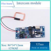 access control module - RFID EM ID Embedded Door Access Control RFID Proximity Door Access Control System Building intercom module