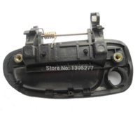 accent driver - 2014 Hyundai Accent Outside Driver Side Front Right FR Black Door Handle handles brass