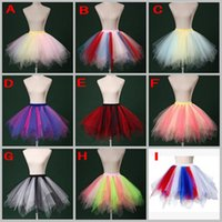 belt s sale - 9 Style Mixed Color Skirt Tiered Ruffle Tulle Tutu Colorful Skirt Factory Sale Custom Made New Arrival Cheap Fashion Skirt With Elastic Belt