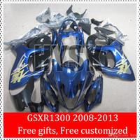 Wholesale Dark Blue Hayabusa GSX R1300 GSXR1300 GSXR For Suzuki Motorcycle Fairings Kits