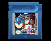 Wholesale GBC game cart new brand free ship classic game english version Mega Man color shell optional