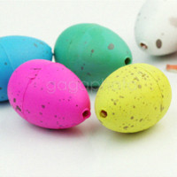 Wholesale 6 x Cute Magic Growing Dino Egg Hatching Dinosaur Eggs Add Water Child Kid Gift egg nutrition