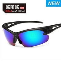 Wholesale 2016 safe explosion proof outdoor cycling sports sunglasses frog mirror dazzle colour sunglasses sunglasses