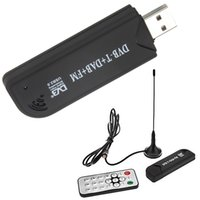 Wholesale by DHL or EMS pieces RTL SDR FM DAB DVB T USB Mini Digital TV Stick DVBT Dongle SDR with Remote Control antenna