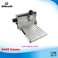 Wholesale to Russia No tax CNC frame of Engraver Engraving Drilling and Milling Machine With stepper motor
