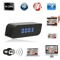 activate ir cameras - 1280x720P HD Wifi IP Camera Hidden Spy Camera Digital Clock Motion Activated Video Recorder Security Network IR DVR
