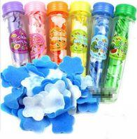 Wholesale Protable Bath Travel Convenience Bottle Mix Color Clear Hand Soft Paper Flower Shape Soap Moisturizer waterproof Nutritious For Body