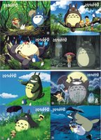 Wholesale 2016 New Hayao Miyazaki Totoro cartoon movie poster Decorative Poster Cartoon Printed Poster Animation Totoro Paintings Z015