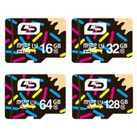 Wholesale Real Capacity LD Brand Micro SD TF Card GB Class LData MicroSD UHS1 Memory Card for Android Smart Mobile Phone