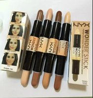 Wholesale 1PCS hot sell good quality Lowest Best Selling good sale Newest Makeup TWO COLORS NYX Concealer