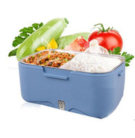 Wholesale 1 L Detachable Electric Lunch Box for Car Vehicle home camping Used with certificates of CE CB etc easy clean and long time keep warm food