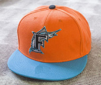 ball sweat - MLB Florida Marlins Baseball Cap Front Logo Alternate Adjustable Hat wicks away sweat Adult Sport Cap