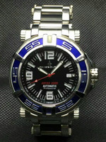 Wholesale 2016 brandswatch9u suggest Chase Durer Special Forces ABYSS AUTOMATIC PROFESSIONAL WATCH LIMITED blue bezel eta
