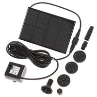 Wholesale 10 pieces DC V Solar Panel Floating Submersible Water Pump Garden Plants Watering Power Fountain Pool Kit Set XQ0138
