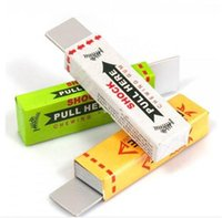 best party jokes - BEST SELLING Novelty Safety Electric Shock Shocking Chewing Gum Toy for Gag Trick Party Prank Joke Funny joke toys