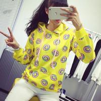 Wholesale GOT7 Just Right Mark Jumper Hoodie BTS Donut EXO Sehun Unisex Sweater New KPOP