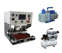 air pouch machine - 220V Laminator quot OCA Vacuum Laminating Machine Vacuum pump Air Compressor