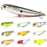 artificial dogs - 1pcs Fishing Pencil Lure Topwater Dogs Hard Lures Baits cm g Plastic Wobbler Artificial Hard Bait Fishing Tackle