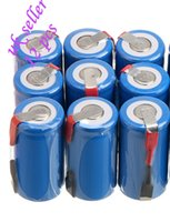 battery tab sub c - UK seller sub c SC battery Ni Cd battery rechargeable battery mh with tab blue color