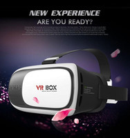 Wholesale Google Cardboard VR BOX II Smartphone Headset D Virtual Reality Glasses Helmet Goggle Oculus Rift DK2 Head Mount Controller
