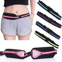 Wholesale Outdoor Bags men s and women s elastic movement Multi function Bag running cycling Guard against theft waterproof cell phone Waist packs
