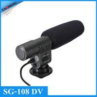 Wholesale YAOMENG Shenggu SG Directional Stereo Shotgun Microphone SG108 for CAN N NIK N PENTAX OLYMPUS PANASONIC D SLR and Camcorder DV
