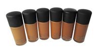 Wholesale Fluid Foundation Studio Fix SPF15 ML Face Primer Cosmetics cream Concealer elastic lasting makeup thin and light NC NW