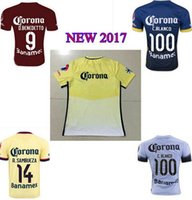 american club - NEW American Memorial red shirts new red club america jerseys R SAMBUEZA C BLANCO club america soccer uniformswholesale DHL