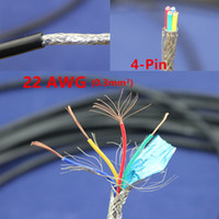 Wholesale meters Copper Electrical Wire Pin AWG Anti interference shielded wire Signal line Wire Electric cable