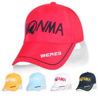 Le nouveau chapeau de golf à la mode de HONMA chausse le chapeau de golf de Sunhat 5colors dans le choix Le chapeau de Sun extérieur équipe l'équipement de golf Livraison gratuite